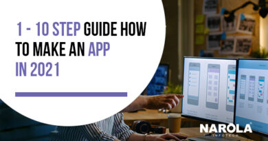 10 Step Guide On How To Make An App In 2021