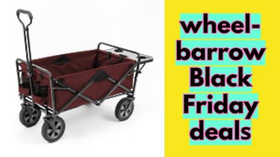 wheelbarrow Black Friday deals