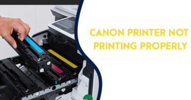 Canon Printer Not Printing Color Issue